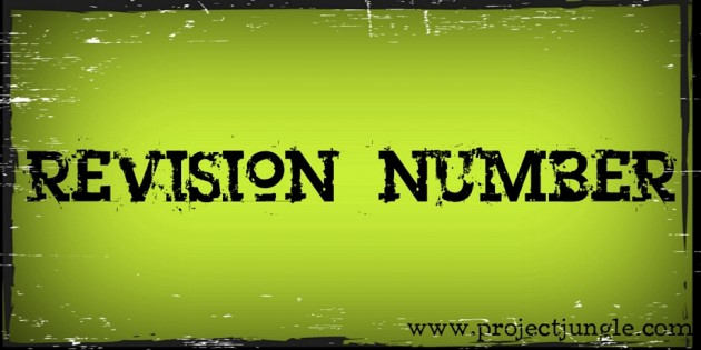 Revision Number